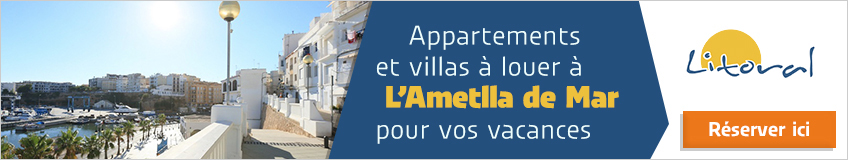 location appartements et villas Ametlla de Mar