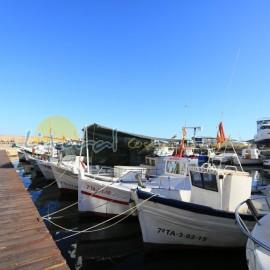 Bateaux dans le port - Ametlla