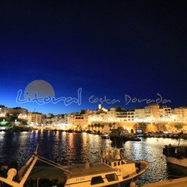 Nightfall à Ametlla de Mar