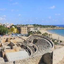 Anfiteatre de Tarragona et plage Miracle
