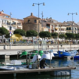 Port de Cambrils en Espagne