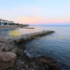 Coucher de soleil à Ametlla de Mar