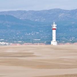 Faro Punta del Falgar au delta de l'Èbre