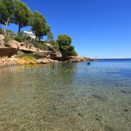 Petit crique Cala Llobeta à L'Ametlla de Mar