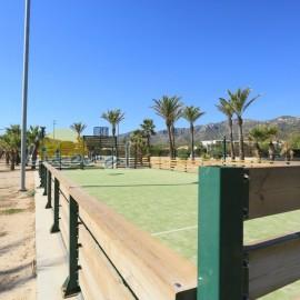 aire de loisirs sur la plage de L'Arenal
