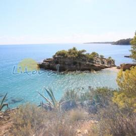 Plage Lillot à Ametlla de Mar