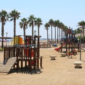 Aire de jeux pour enfants - Plage Cristal - Miami Platja - Tarragona
