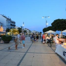 crépuscule au port de Cambrils