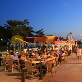Restaurants en bord de mer