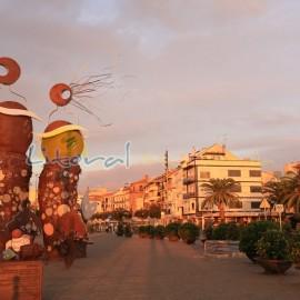 Port de Cambrils au lever du soleil